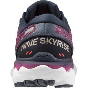 Mizuno Wave Skyrise 2 Shoes Women ibi srose/platinum gold/india ink